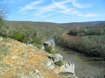 La Vallée de l'Aveyron
