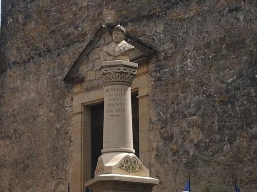 le monument aux morts de Bruniquel