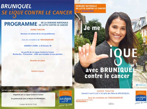 Bruniquel contre le cancer