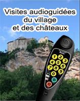 Visites audioguidées du village et des châteaux